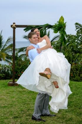 Kristin and Dan Sayulita Wedding Photo