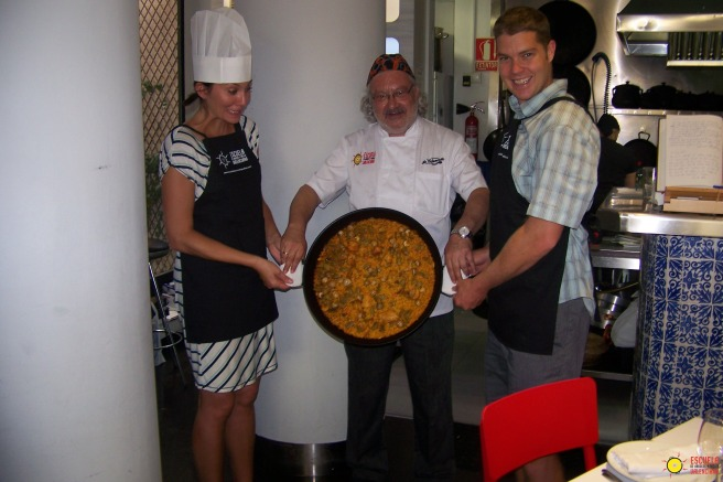 Trust in the paella and prove it's worth by tipping it!